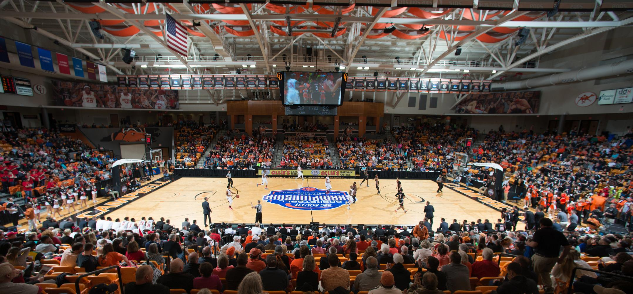 Gore Arena/John W  Pope Jr  Convocation Center - Campbell