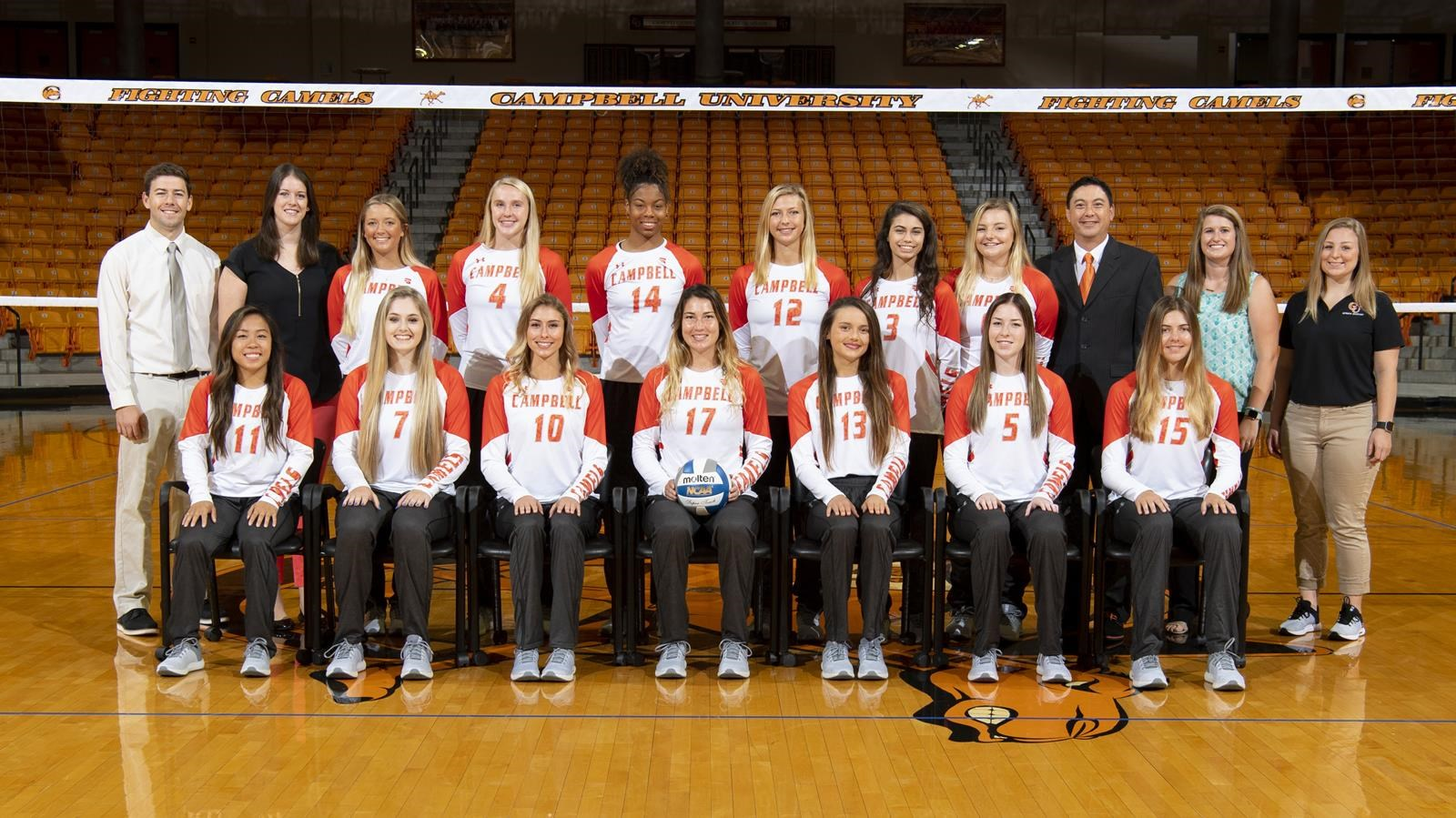 2018 Volleyball Roster Campbell University