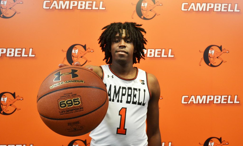 0ec300159b3 Joshua Lusane signs with Campbell Basketball