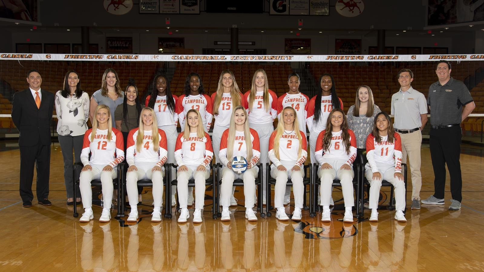 2019 Volleyball Roster Campbell University